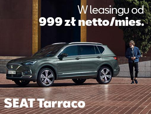 Tarraco leasing od 999 zł